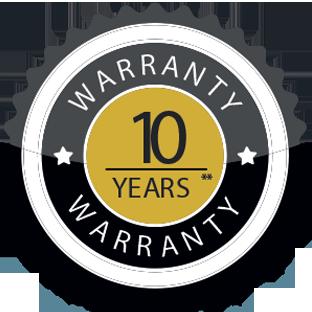 10 Year- Warranty