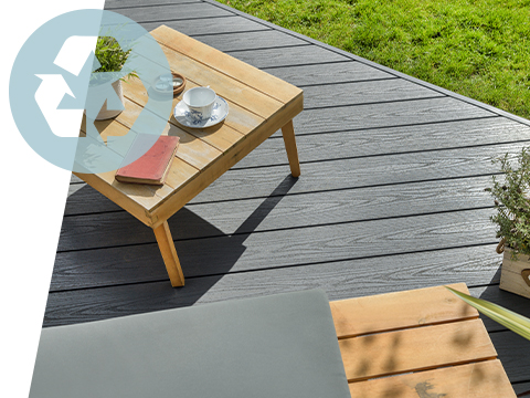 An eco-friendly UPVC deck
